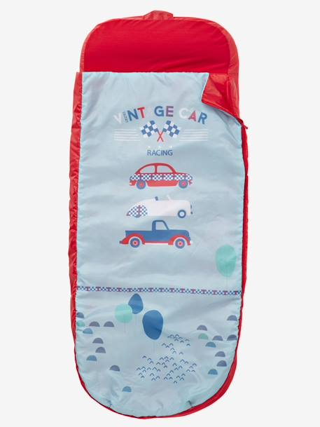 Readybed® Sleeping Bag with Integrated Mattress, Vintage Car Theme Car print