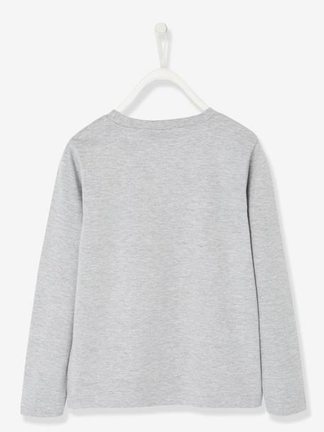 Long-Sleeved Mickey® Top GREY LIGHT MIXED COLOR