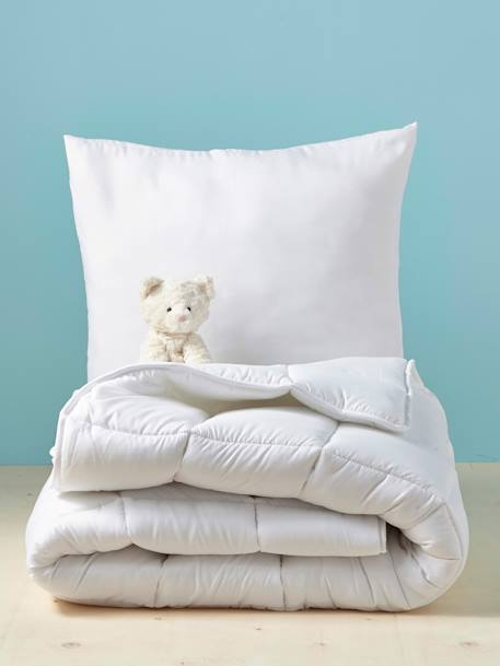 Easy Wash Pillows in Microfibre White