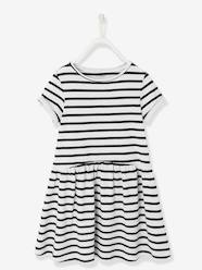 Girls-Dresses-Girls' Short-Sleeved Dress
