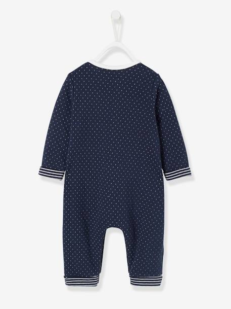 Jumpsuit for Babies BLUE DARK SOLID WITH DESIGN+GREY LIGHT MIXED COLOR+WHITE LIGHT SOLID WITH DESIGN