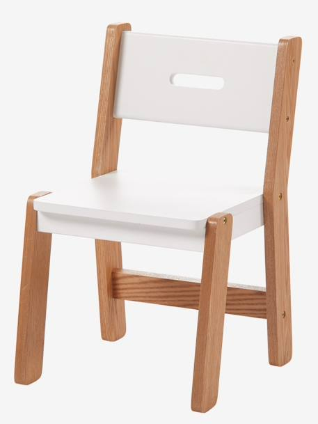Pre-School Chair, 30 cm Seat, ARCHITEKT LINE WHITE LIGHT TWO COLOR/MULTICOL