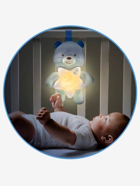 Little Teddy Musical Night Light by CHICCO BLUE LIGHT SOLID WITH DESIGN+PINK LIGHT SOLID WITH DESIGN