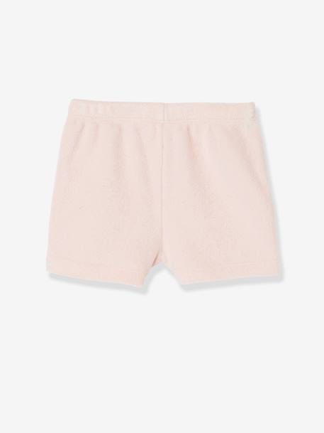 Pack of 4 Baby Boys Terry Shorts Pale grey striped+PINK LIGHT 2 COLOR/MULTICOL R