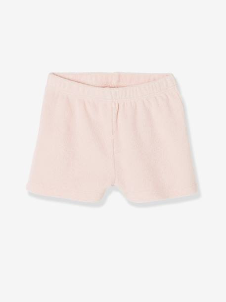 Pack of 4 Baby Boys Terry Swim Shorts Pale grey striped+PINK LIGHT 2 COLOR/MULTICOL R