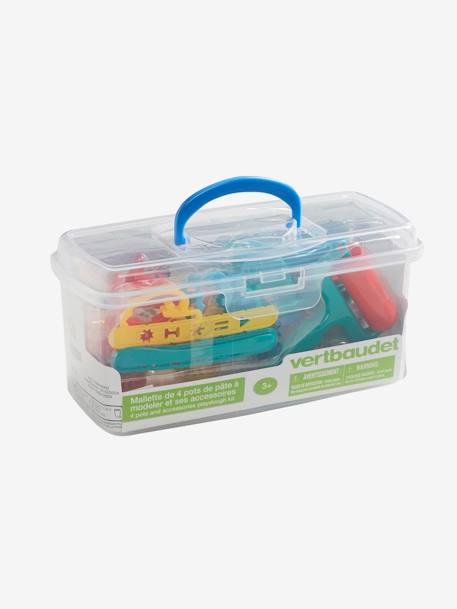 Case with Accessories and Modelling Clay NO COLOR