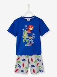 Boys-Nightwear-Short Pyjamas with PJ Masks Print