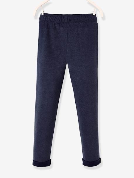 Boys' Fleece Trousers BLACK DARK SOLID+BLUE DARK MIXED COLOR+BLUE MEDIUM MIXED COLOR+GREY MEDIUM MIXED COLOR+RED DARK MIXED COLOR