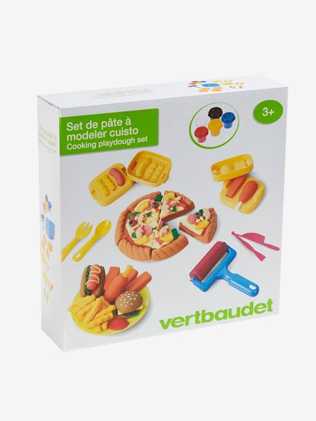 Modelling Clay Set for Chefs YELLOW MEDIUM SOLID WTH DESIGN