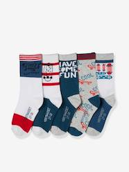 Boys-Sportswear-Pack of 5 Pairs of Socks for Boys