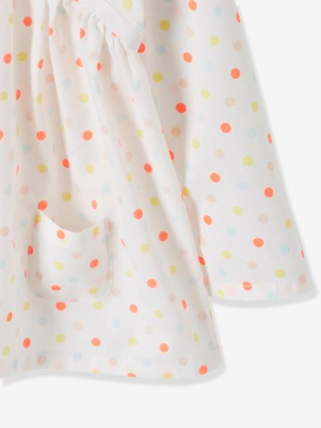 Baby Girls' Printed Blouse RED LIGHT ALL OVER PRINTED+WHITE BRIGHT ALL OVER PRINTED+WHITE DARK ALL OVER PRINTED