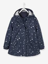 Girls-3-in-1 Raincoat for Girls