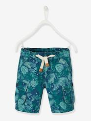 Boys-Cargo-Style Bermuda Shorts for Boys