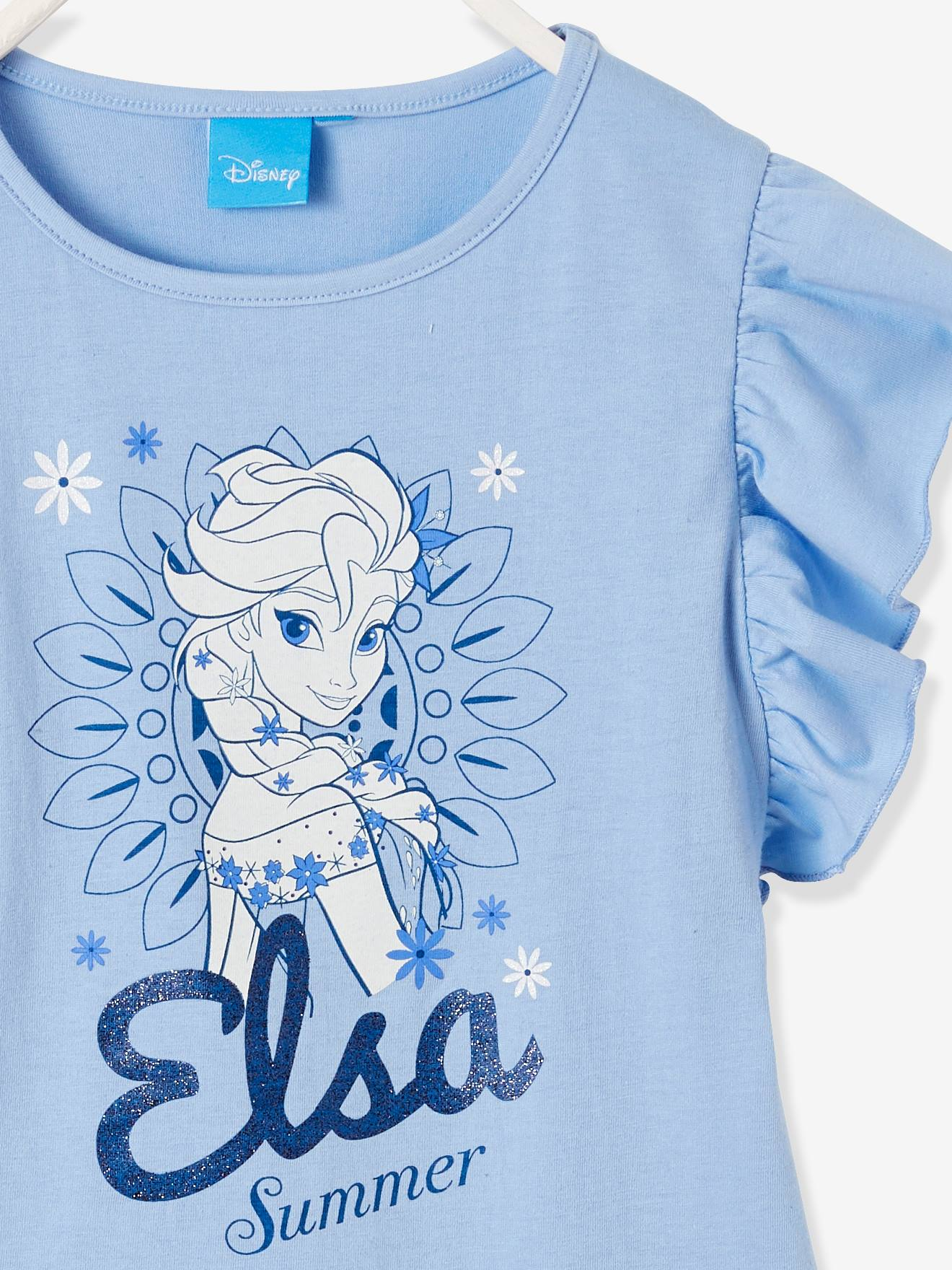 72e02878b Frozen® Pyjamas with Glow-in-the-Dark Prints - blue light solid with ...