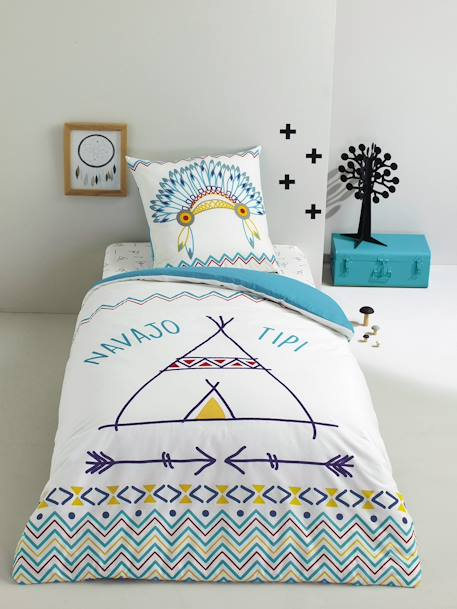 Duvet Cover & Pillowcase Set, Lil' Indian NAVAJO