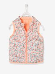 Girls-Coats & Jackets-Reversible Waistcoat for Girls