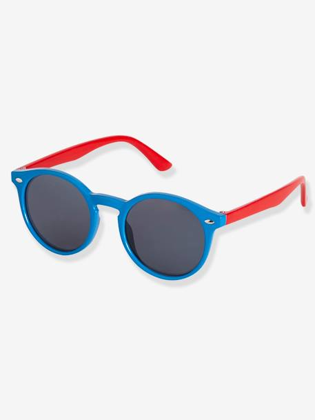Two-Tone Sunglasses for Boys BLUE MEDIUM SOLID