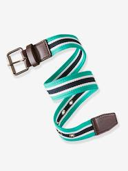 Boys-Accessories-Bags & Belts-Striped Fabric Belt for Boys