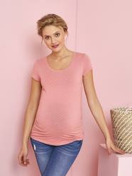 Maternity-Short-Sleeved Maternity T-Shirt