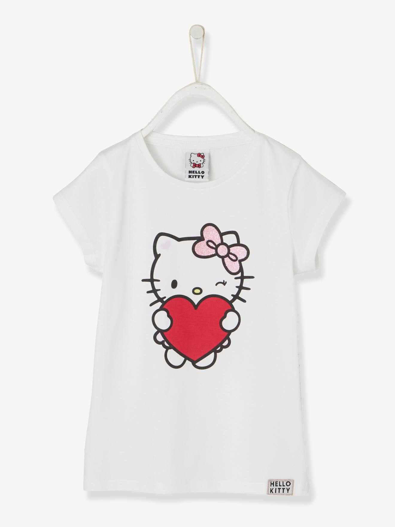 cf47cdc6426a5 Printed Hello Kitty® T-Shirt - white light solid with design
