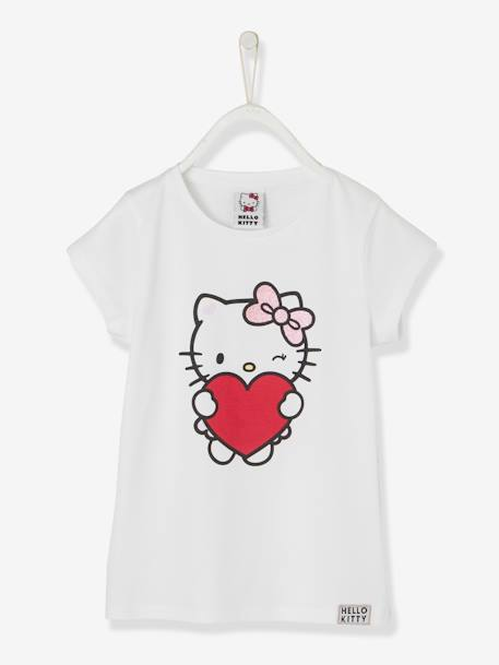 97ef1ae0c Printed Hello Kitty® T-Shirt - white light solid with design