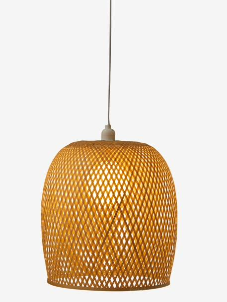 Lampshade in Rattan BEIGE LIGHT SOLID