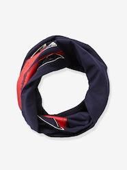 Boys-Accessories-Lightweight Scarves & Snoods-Infinity Scarf with Flag Motif, for Boys