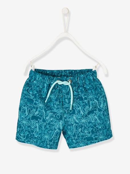 Swim Shorts for Babies GREEN DARK 2 COLOR/MULTICOLORR