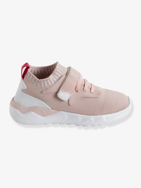 Ultra-Light Trainers for Girls PINK LIGHT SOLID WITH DESIGN