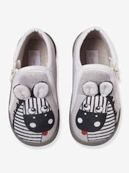 Shoes-Baby Footwear-Zipped Slippers for Baby Boys