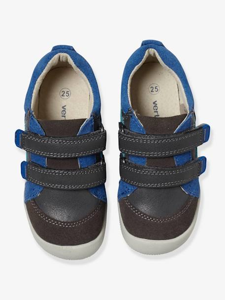 Boys' Leather Shoes, Designed For Autonomy Navy