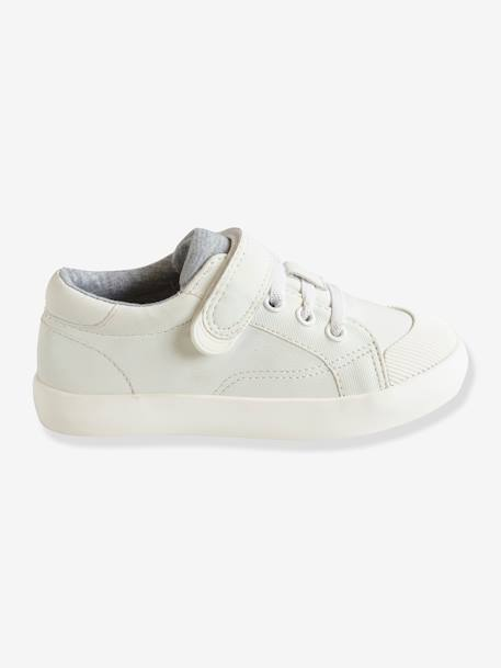 Boys' Trainers, Autonomy Collection BLUE MEDIUM SOLID+WHITE LIGHT SOLID WITH DESIGN