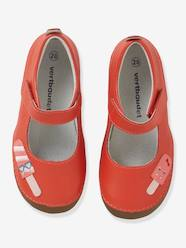 Shoes-Girls Footwear-Leather Shoes with Touch-Fastening Tab, for Girls