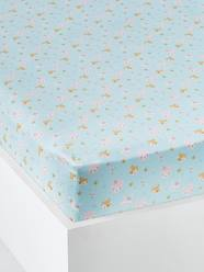 Furniture & Bedding-Fitted Sheet, Love in the Forest Theme