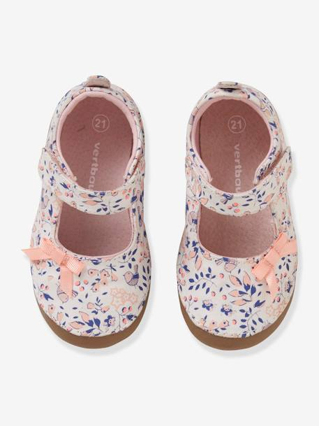 a58d5ab3a26a Ballet Pump Slippers for Baby Girls - pink medium all over printed ...