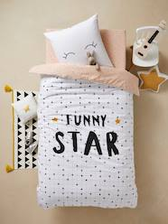 Furniture & Bedding-Child's Bedding-Children's Duvet Cover and Pillowcase Set, FUNNY STAR