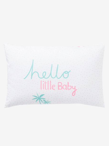 Summer Sorbert Pillowcase White/pink
