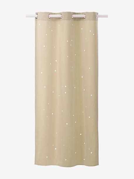 Hollow Star Curtain Blue+Blush+Greige+Grey