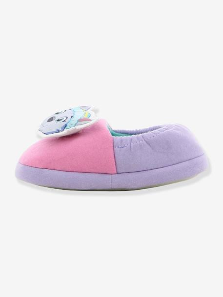 Elasticated PAW Patrol® Slippers for Girls PURPLE LIGHT SOLID WITH DESIGN