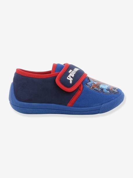 Spiderman® Slippers with Touch Fasteners for Boys RED MEDIUM SOLID WITH DESIG