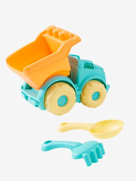 Lorry with Accessories for the Beach BLUE MEDIUM SOLID WITH DESIGN