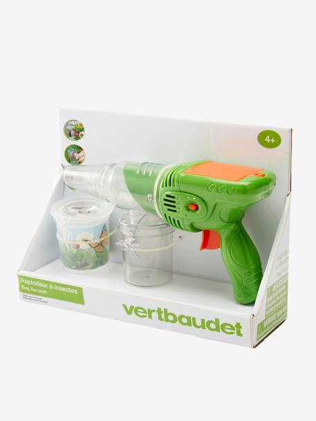 Insect Aspirator GREEN MEDIUM SOLID WITH DESIG