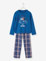 Boys-Nightwear-Dual Fabric Pyjamas for Boys