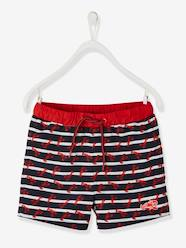6de68ad850e Boys-Swim & Beachwear-Striped Swim Shorts, with Lobsters, for Boys