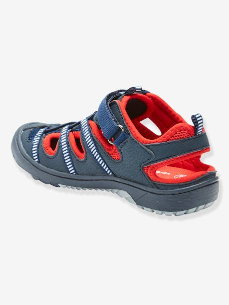 Sandals for Boys BLACK DARK SOLID WITH DESIGN+BLUE DARK TWO COLOR/MULTICOL+GREY MEDIUM TWO COLOR/MULTICOL