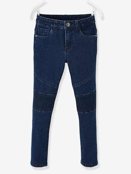 Indestructible Slim Leg Jeans for Girls BLUE DARK SOLID