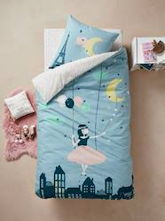 Furniture & Bedding-Duvet Cover + Pillowcase Set for Children, Moonlight Theme