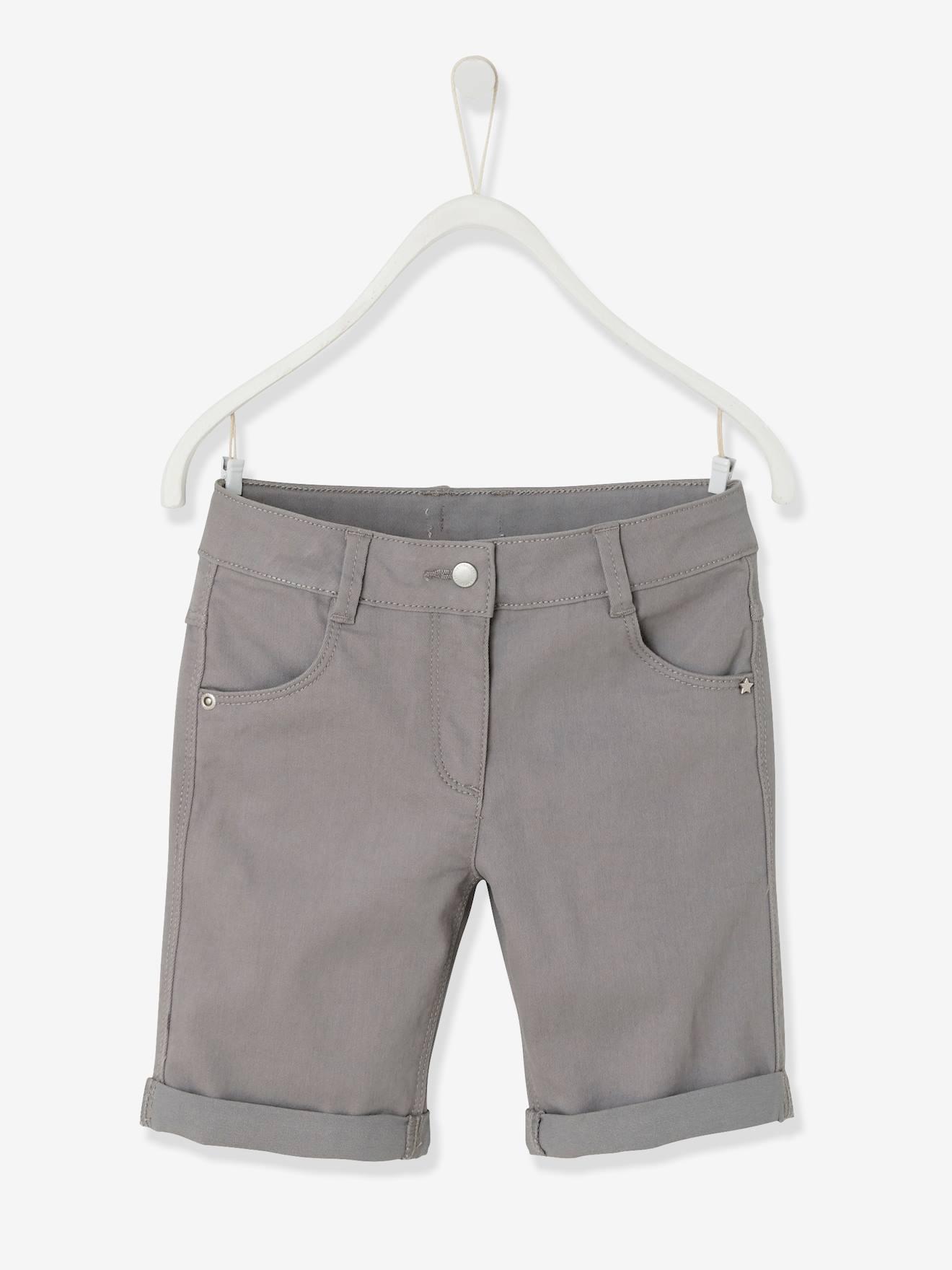 03b7b8ece485e Girls  Stretch Twill Bermuda Shorts