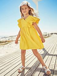 Girls-Dresses-Dress with Ruffles on the Sleeves for Girls