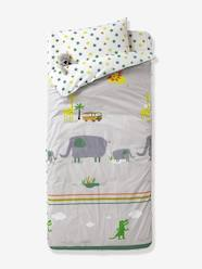 Furniture & Bedding-Child's Bedding-Ready-for-Bed 3-Piece Set without Duvet, Jungle Theme